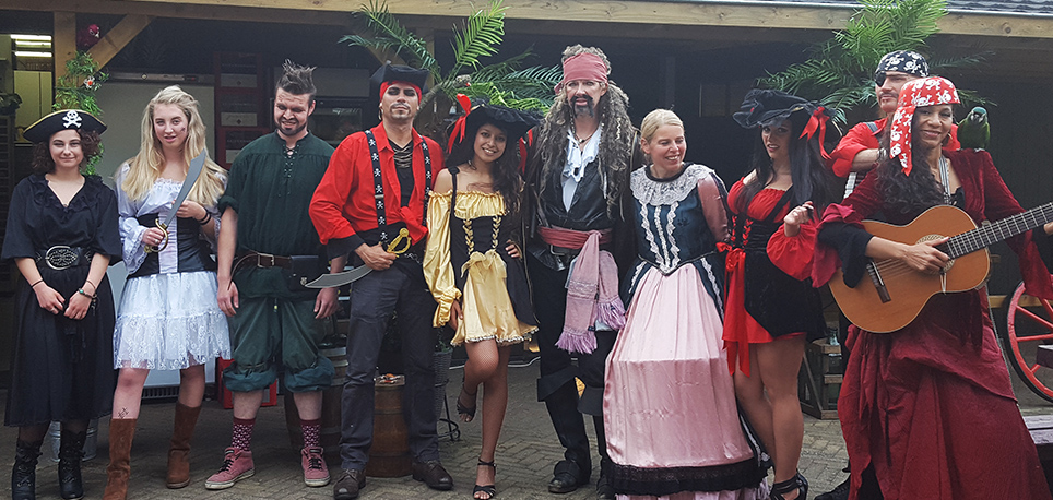 Pirates of the Caribbean uw volgende themafeest